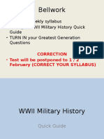 WWII Military History [25-28 January]