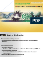 Training-Agenda - ACT Introductory