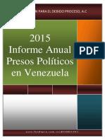 Informe Presos Politicos 2015-Fundepro