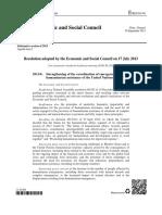 Ecosoc Res. 2013-6