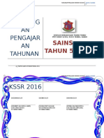 Rpt Sains Tahun 5 Sktt 2016