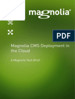 Magnolia CMS Deployment in the Cloud