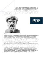Biografía Pitágoras