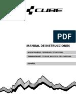 CUBE Bike Manual Spanish 2015