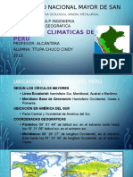Regiones Climaticas Del Peru