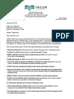 CEO Weiland Memo to COB York 1-25-16 (2)