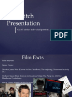 Media Task 10- Film Pitch Presentation