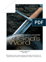 Authority and Power of God's Wo - Derek Prince