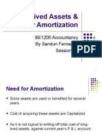 Long-Lived Assets & Their Amortization- Session 09