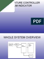 Project of Temperature Controller Cum Indicator