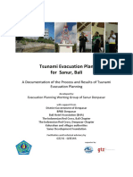 Tsunami Evacuation Plan Sanur
