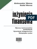 Inżynieria Finansowa - Weron