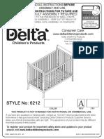 6212 Winterpark Crib Assembly