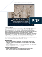 Church History Syllabus (2010)