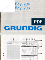 Grundig Yacht-Boy 206 Manual
