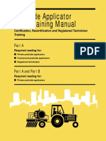 Pesticide Applicator Core Training Manual