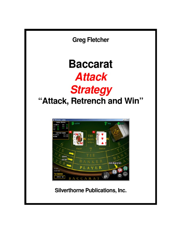 Baccarat strategy pdf when should i double down in blackjack