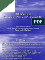 Convenio OPRC Protocolo HNS