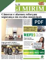 Diário Oficial – Monitoramento nas escolas - Setembro/2014