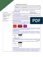 Práctica 1 Compuertas Digitales