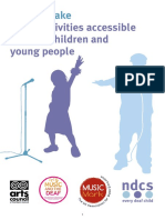 How to Make Music Activities Accessible for Deaf Children and Young People