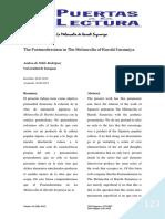 Haruhi Suzumiya y El Posmodernismo