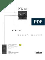Lexicon PCM60 Cover