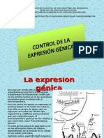 Control de La Expresión Génica