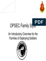 OPSEC Family Style