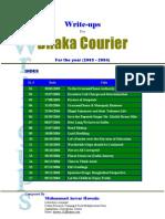 Write-Ups (2003-2004)