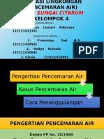 PPT Pencemaran Air (Tugas Farmasi Lingkungan)
