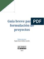 Guía Breve Para La Formulación de Proyectos