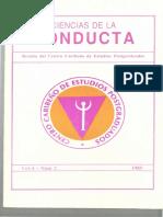 Revista Ciencias de La Conducta 1989