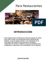 Sistema Para Restaurantes.pptx
