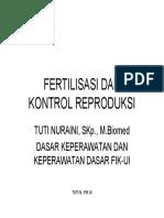 Fertil is as i Dan Kontrol Re Pr