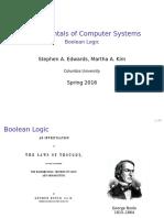 Fundamentals - Boolean