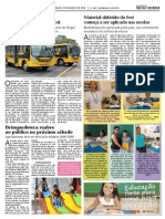 Diário Oficial – Novos ônibus escolares beneficiam rural - Março/2015
