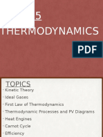 thermodynamics lecture spring 2016