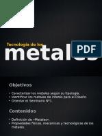 Tema 1. Clasificación y Propiedades de Los Metales