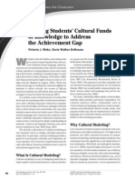 Cultural Funds of Knowledge 1