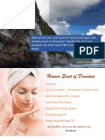 Natural Skin Care Products by Heaven Scent of Dominica