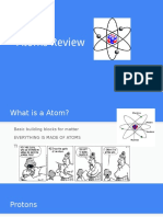 atoms review  1