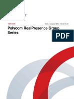 Polycom RealPresence Group Series User Guide