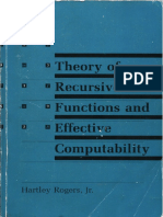 Rogers 1987 Theory of Recursive Functions
