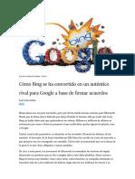 Bing Rival Google
