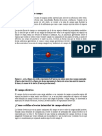 II - El Concepto Físico de Campo Electrico