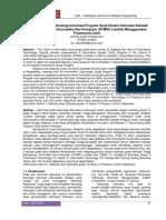 03 Audit Tata Kelola Teknologi Informasi Program Studi Sistem Informasi Sekolah Tinggi Manajemen Informatika Dan Komputer _STMIK_ Lombok Menggunakan
