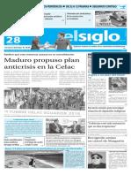 Edicion Impresa El Siglo 28-01-16