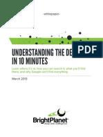 Understanding the Deep Web in 10 Minutes