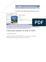 Libro de TOEFL